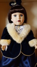 VICTORIAN BOWS COLLECTION 1999 by Melissa Jane Genuine Porcelain Doll wi... - $39.47