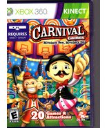 XBOX 360 -KINECT - Carnival Games - $9.95