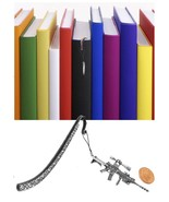 M4A1 Pewter Emblem Pattern bookmark for books organisers codeP - $12.69