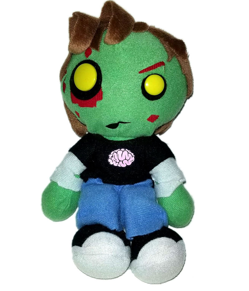 "Creepy Cuddlers ""Zach"" Series 2 Mezco 9"" Zombie Plush"