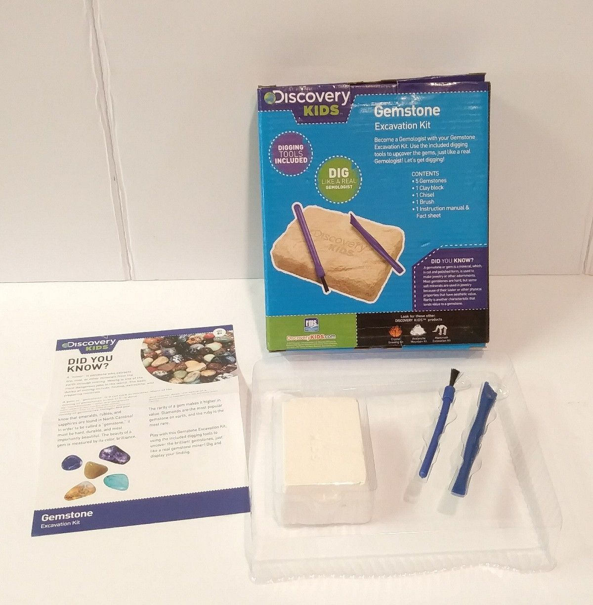 Discovery Kids Gemstone Excavation Kit And 50 Similar Items