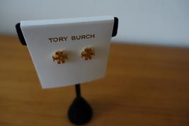Tory Burch T-LOGO Stud Earrings Gold Tone. New - $45.99