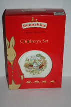 Royal Doulton Bunnykins Children's Set 1 x 20cm plate  cereal bowl  hand... - $32.12