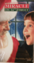 Miracle on 34th Street Vhs image 1
