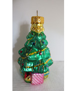 Holidays Christmas Tree Glass Ornament - $6.79