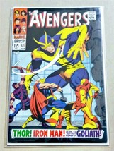 The Avengers #51 Silver Age Collectible Comic Book 1968 Marvel Comics! - $43.59