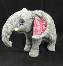 Hasbro Fur Real Zambi Animated Grey Baby Elephant Limited Edition 2008 S... - $23.33