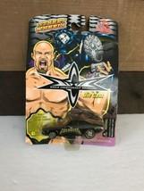 Wcw Wrestling Goldberg Black Camaro Diecast Car Street Wheels 1999 - $11.30
