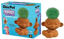 Chia Pet Fingerlings Monkey Decorative Pottery Planter, Easy to Do and F... - $15.89