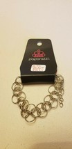 Paparazzi Bracelet (New) Double The Rings Silver #6123 - $7.61
