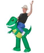 Funny INFLATABLE DINOSAUR RIDER Adult Unisex Instant Costume Gag - $39.68