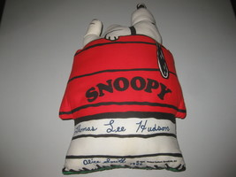Snoopy Pillow Peanuts On Dog House 1958 United Feature Syndicate Vintage - $39.59