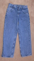 Wrangler Blue Denim Adjustable Waist Jeans Boys Size 10 Reg  - $10.00