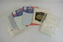 Needlework Fabric Lot of 7 Packages Zweigart DMC MCG Textiles Cross Stitch USA - $28.84