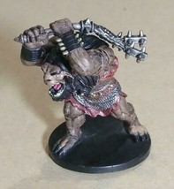 Dungeons & Dragons Miniatures Ogre War Hulk #54 D&D Mini Collectible Wizards! - $9.59