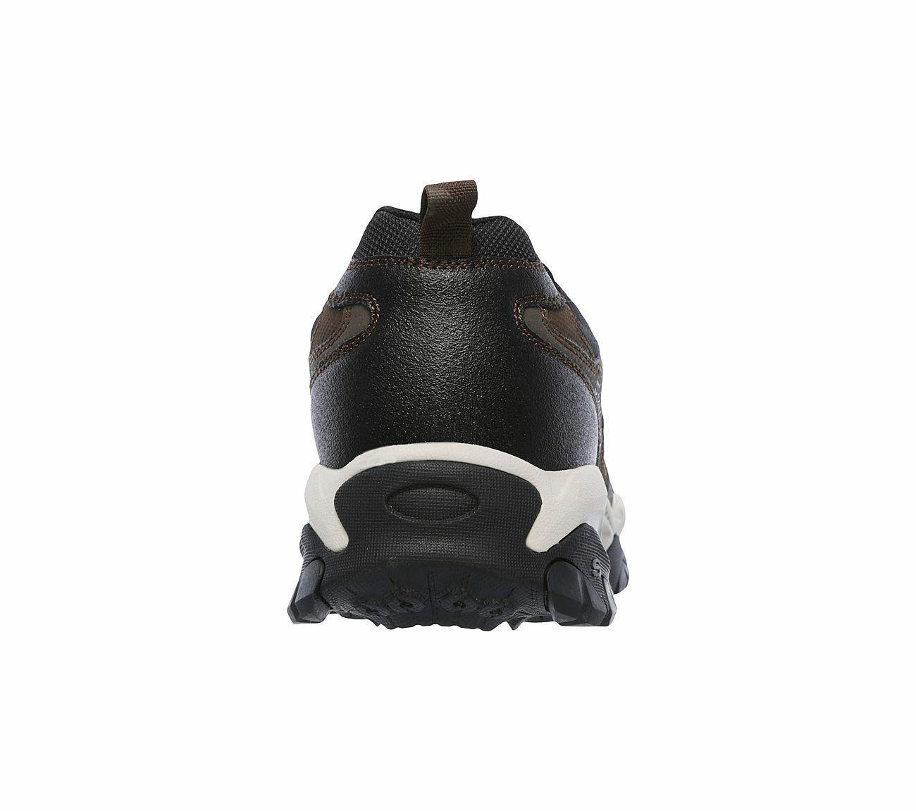 Skechers Wide Fit Brown shoes Men's Memory Foam Sport Train Comfort Casual 52700
