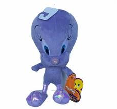 Tweety Bird plush stuffed animal Purple Looney Tunes mattel metallic bug... - $24.14