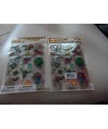 2 Packs Dimensional Epoxy Stickers Hallmark Marvel Comics- Spiderman, Th... - $6.99