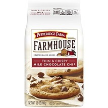 Pepperidge Farm Farmhouse Thin & Crispy Cookies, Milk Chocolate Chip, 6.... - $12.81
