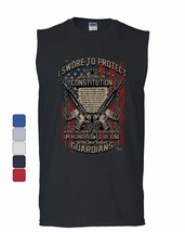 Swore to Protect Defend the Constitution Muscle Shirt Guardian Nation Sl... - $10.84+