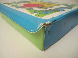 The World Of Barbie Doll Case 1002 Blue Vintage 1968 Doll Carrying Case image 10