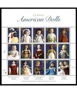 Classic American Dolls Sheet of 15 32¢ Stamps Scott 3151 Mint VF NH Stuart Katz
