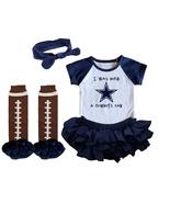 Dallas  Cowboys Girls Onesie Uniform Jersey Born a Fan - $21.95+