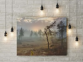 Printable Mysterious Swamp Forest, Home Wall Decor, Wall Art Download, O... - $4.20