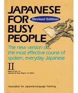 Japanese for Busy People II, Revised Edition 2 (1995) Paperback - $19.99