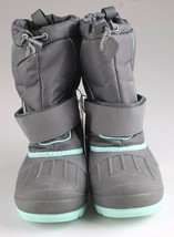 Cat & Jack Boys Kids Youth Gray Cordie Thermolite Insulation Winter Boots image 2