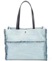 Kate Spade Sam Denim Large Pocket Tote Light Denim Blue - $117.81