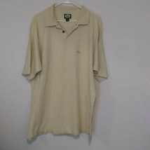 Tommy Bahama  Yellow Embroidered Marlin Polo Shirt Golf Mens  M - $19.38