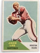 1960 Fleer #38 Jack Jacky Lee RC - Houston Oilers (Rookie Card) NM Near Mint NFL - $7.99