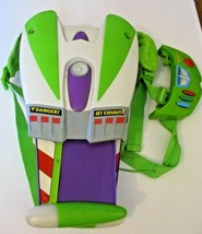 Toy Story Buzz Lightyear Jet Wing Pack Sounds, Lights, Movement Disney P... - $64.34
