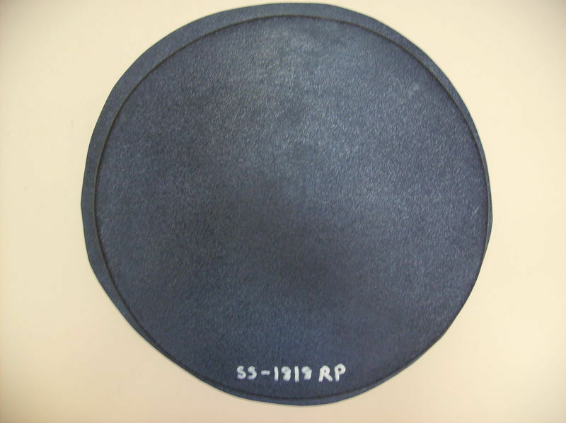 "1- 18x2"" ROUND, PLAIN, FLAT CONCRETE STEPPING STONE MOLD, MOULD #SS-1818-RP"