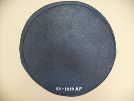 "1- 18x2"" ROUND, PLAIN, FLAT CONCRETE STEPPING STONE MOLD, MOULD #SS-1818-RP image 1"