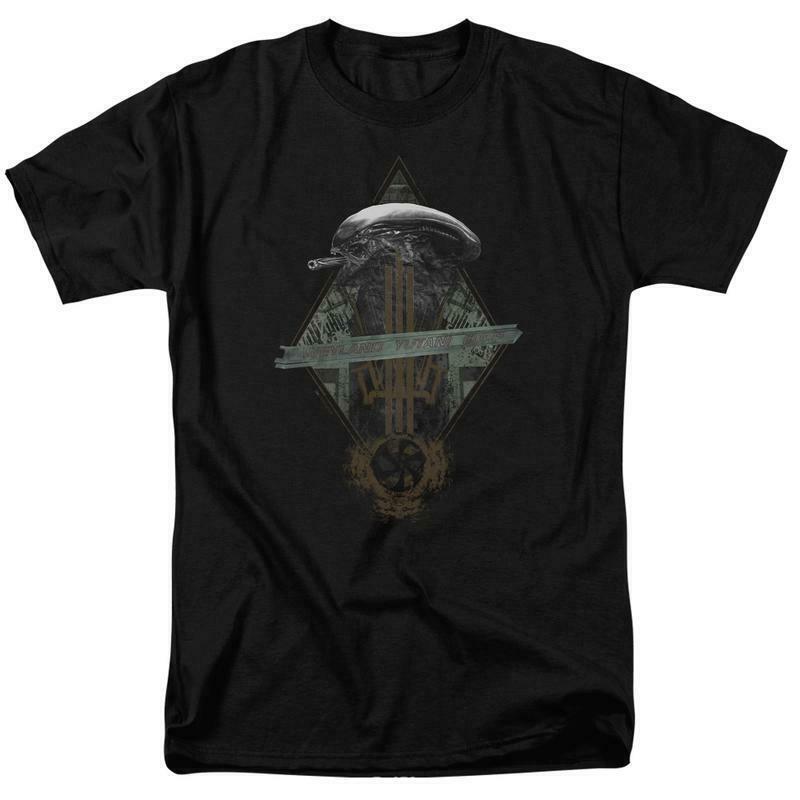 Alien t-shirt Prison Planet Collage Sci-Fi franchise cotton graphic tee TCF483