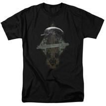 Alien t-shirt Prison Planet Collage Sci-Fi franchise cotton graphic tee TCF483 image 1