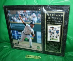 New York Yankees MLB Photo File Upper Deck Mariano Rivera 42 602nd Save ... - $29.69