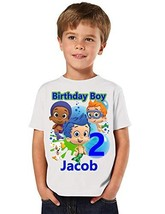 Bubble Guppies Birthday Shirt, Add Any Name and Age, Bubble Guppies Birt... - $33.20