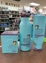 Pureology Strength Cure Shampoo and Conditioner 8.5oz & masque 5oz- 3set - $89.08