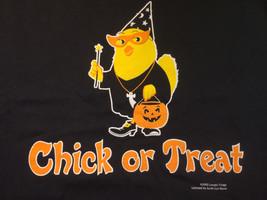 Halloween Black T-shirt Chick Trick or Treat Costume M L XL XXL NWT NEW - $18.88