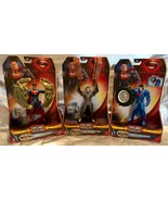 Superman Man of Steel 2013 Power Attack Deluxe Action Figure Lot of 3 - NEW - $42.13