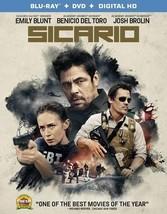 Sicario (Blu Ray/DVD W/Digital Hd) (Ws/Eng/Eng Sub/Span Sub/Eng Sdh)