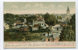 Panorama Epping New Hampshire 1906 postcard - $6.44