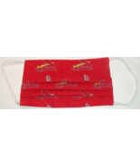 Baseball Print Non Medical Grade Fabric Face Mask with Opening for Filte... - $12.95