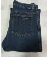 Calvin Klein Size 30 28 X 29 Womens Made In USA Jeans Mom 1970s Brooke S... - $49.99