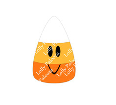 Candy Corn DIGITAL File.  Instant Download.  SVG & PNG Files. No Phsyical Items