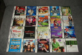 Nintendo DS: Lot of 20 [Instruction Books Manuals ONLY] b - $13.00