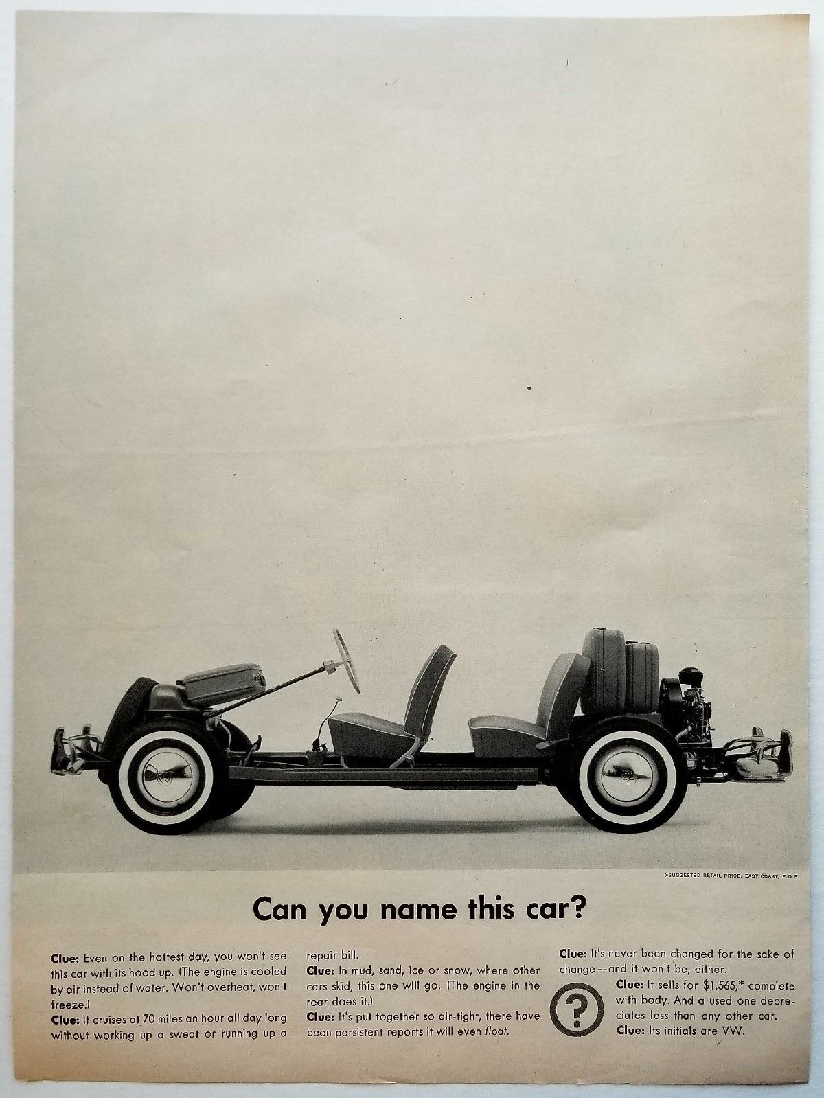 Can you name this car? 1960 Volkswagen Bug and 13 similar items